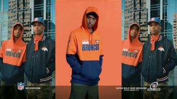 NFL Shop Super Wild Card Weekend TV Spot, 'Make the Colors Hit' Song by KYLE, K CAMP, Rich the Kid - Thumbnail 3