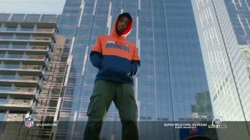 NFL Shop Super Wild Card Weekend TV Spot, 'Make the Colors Hit' Song by KYLE, K CAMP, Rich the Kid - Thumbnail 8