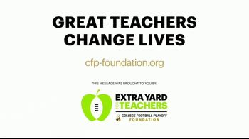 College Football Playoff Foundation TV Spot, 'Extra Yard for Teachers: Unprecedented Challenges' - Thumbnail 10