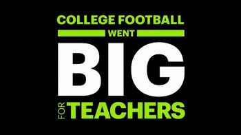 College Football Playoff Foundation TV Spot, 'Extra Yard for Teachers: Unprecedented Challenges' - Thumbnail 6