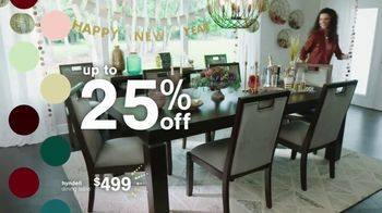 Ashley HomeStore New Years Sale TV Spot, 'Up to 25% Off: Extended' - Thumbnail 4