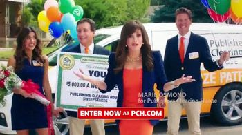 Publishers Clearing House TV Spot, \'What Would You Do: $5,000 a Week for Life\' Featuring Marie Osmond