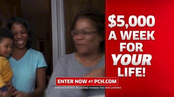 Publishers Clearing House TV Spot, 'What Would You Do: $5,000 a Week for Life' Featuring Marie Osmond - Thumbnail 6