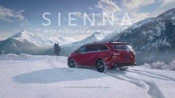 Toyota Sienna TV Spot, 'Cold' [T1]