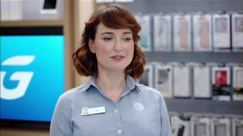 AT&T Wireless TV Spot, 'Lily Excited: $0 iPhone 12 Mini' - Thumbnail 8