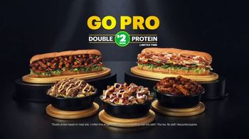 Subway TV Spot, 'Go Pro for Double the Protein' Featuring Marshawn Lynch - Thumbnail 8