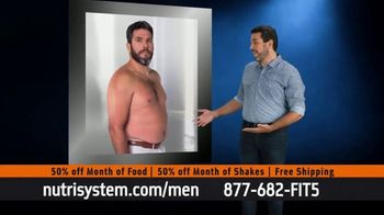 Nutrisystem for Men TV Spot, 'Done with 2020: 50% off Month of Food and Shakes'