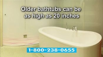 Jacuzzi Bath Remodel TV Spot, 'Tub-to-Shower Conversion' - Thumbnail 3