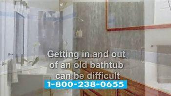 Jacuzzi Bath Remodel TV Spot, 'Tub-to-Shower Conversion' - Thumbnail 5