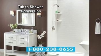 Jacuzzi Bath Remodel TV Spot, 'Tub-to-Shower Conversion' - Thumbnail 6