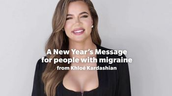 Nurtec TV Spot, 'A New Year's Message' Featuring Khloe Kardashian