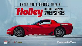 Holley Detroit Muscle Sweepstakes TV Spot, 'Rip Up the Track'
