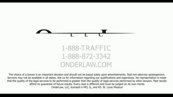 Onder Law Firm TV Spot, 'Serious Auto Accident: Commercial Vehicles' - Thumbnail 10