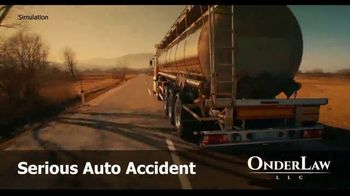 Onder Law Firm TV Spot, 'Serious Auto Accident: Commercial Vehicles' - Thumbnail 2