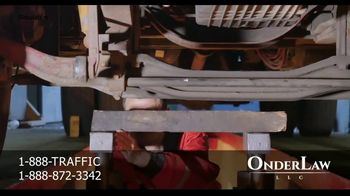 Onder Law Firm TV Spot, 'Serious Auto Accident: Commercial Vehicles' - Thumbnail 6