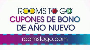 Rooms to Go Cupones de Bono de Año Nuevo TV Spot, 'Por tres días' [Spanish] - Thumbnail 1