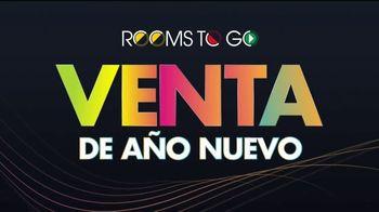 Rooms to Go Venta de Año Nuevo TV Spot, 'Adios 2020: cinco años de financiamiento sin interés' [Spanish]