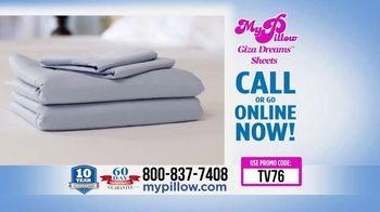 My Pillow Giza Dream Sheets TV Spot, 'Variety of Colors: BOGO' - Thumbnail 5