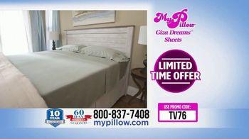 My Pillow Giza Dream Sheets TV Spot, 'Variety of Colors: BOGO' - Thumbnail 8