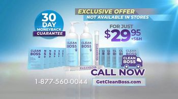 CleanBoss Hand Sanitizer TV Spot, 'Lasts Up to Six Hours' - Thumbnail 10