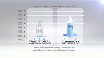 CleanBoss Hand Sanitizer TV Spot, 'Lasts Up to Six Hours' - Thumbnail 4