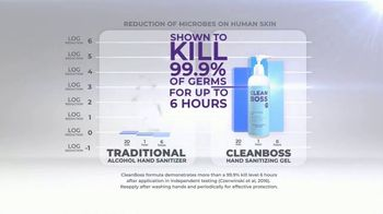 CleanBoss Hand Sanitizer TV Spot, 'Lasts Up to Six Hours' - Thumbnail 5