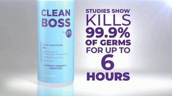 CleanBoss Hand Sanitizer TV Spot, 'Lasts Up to Six Hours' - Thumbnail 6