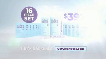 CleanBoss Hand Sanitizer TV Spot, 'Lasts Up to Six Hours' - Thumbnail 9