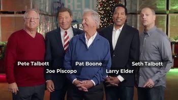 Relief Factor 3-Week Quickstart TV Spot, 'Merry Christmas: Special Time' Ft. Larry Elder, Pat Boone - 9 commercial airings