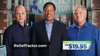 Relief Factor 3-Week Quick Start TV Spot, 'John's Testimony' Featuring Larry Elder - 110 commercial airings