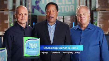 Relief Factor 3-Week Quick Start TV Spot, 'John's Testimony' Featuring Larry Elder - Thumbnail 1