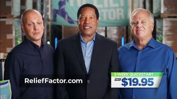 Relief Factor 3-Week Quick Start TV Spot, 'John's Testimony' Featuring Larry Elder - Thumbnail 4