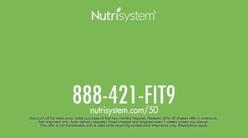 Nutrisystem TV Spot, 'Delivers Results: 50% off Month of Meals and Shakes' - Thumbnail 10