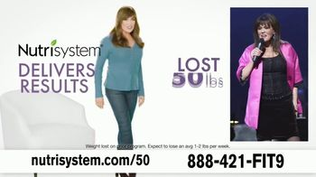 Nutrisystem TV Spot, 'Delivers Results: 50% off Month of Meals and Shakes' - Thumbnail 2