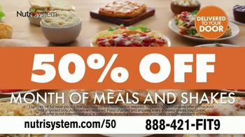 Nutrisystem TV Spot, 'Delivers Results: 50% off Month of Meals and Shakes' - Thumbnail 9