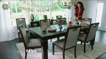 Ashley HomeStore New Years Sale TV Spot, 'Extended: Up to 25% Off + No Minimum Purchase' - Thumbnail 3