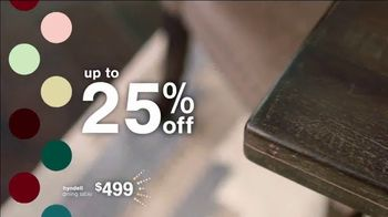 Ashley HomeStore New Years Sale TV Spot, 'Extended: Up to 25% Off + No Minimum Purchase' - Thumbnail 4