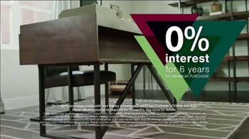 Ashley HomeStore New Years Sale TV Spot, 'Extended: Up to 25% Off + No Minimum Purchase' - Thumbnail 6