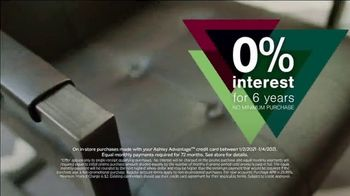 Ashley HomeStore New Years Sale TV Spot, 'Extended: Up to 25% Off + No Minimum Purchase' - Thumbnail 7