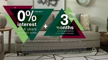 Ashley HomeStore New Years Clearance Sale TV Spot, '0% Interest + Payment Assistance and 40% Off' - Thumbnail 4