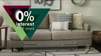 Ashley HomeStore New Years Clearance Sale TV Spot, 'Up to 40% Off and 0% Interest for Six Years' - Thumbnail 5