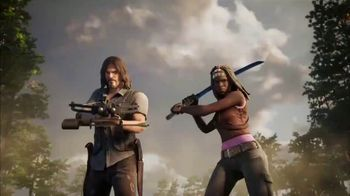 Fortnite TV Spot, 'Michonne and Daryl Arrive Through the Zero Point'
