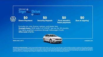 Volkswagen Sign Then Drive Event TV Spot, 'Zero Hassles' [T2] - Thumbnail 6