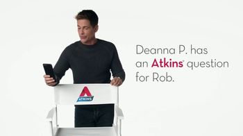 Atkins TV Spot, 'Questions: Deanna' Featuring Rob Lowe