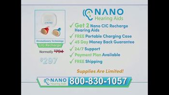 Nano Hearing Aids TV Spot, \'Trouble Hearing\'