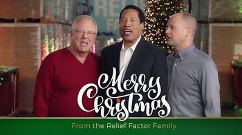 Relief Factor 3-Week Quickstart TV Spot, 'Merry Christmas: David' Featuring Larry Elder - 9 commercial airings
