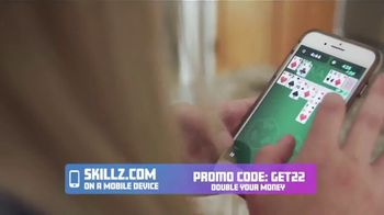 Skillz TV Spot, 'This Mom Won $6,000 Playing Solitaire Cube on Her Phone: Double Winnings' - Thumbnail 3