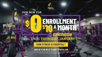 Planet Fitness TV Spot, 'Break Free: $0 Enrollment' - Thumbnail 8