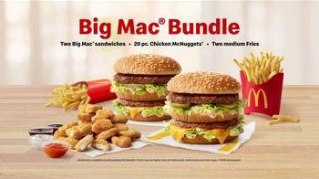 McDonald's Big Mac Bundle TV Spot, 'The YESSSSSS! Meal' - Thumbnail 9