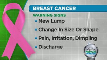 Cleveland Clinic TV Spot, 'Medical Minute: Breast Cancer Awareness' - Thumbnail 4